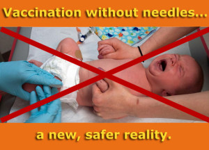 Vaccination without needles
