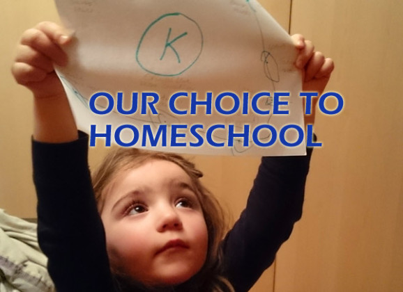 Our Choice to Homeschool